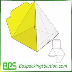 cardboard tray die cutting design template