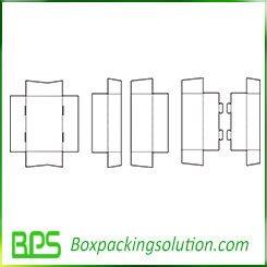 cardboard with header piece template