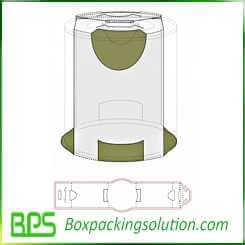 coke holder design template