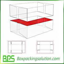 corrugated cardboard telescope shape box design
