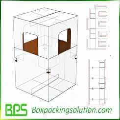 corrugated pet house design templates