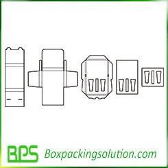 cosmetic box template