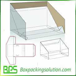 cosmetic products display packaging boxes