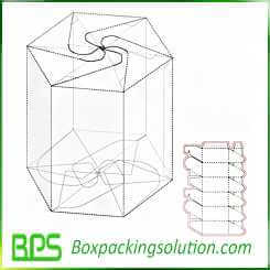 custom candy packaging boxes template design