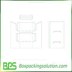 custom cardboard display stand templates