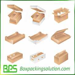 custom cardboard tray packaging fruit packaging box vegetable packaging boxes
