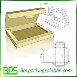 custom folding box tab closure