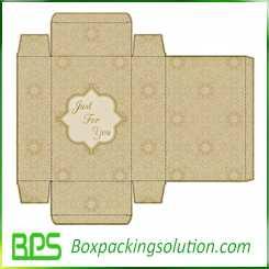 custom folding carton box design