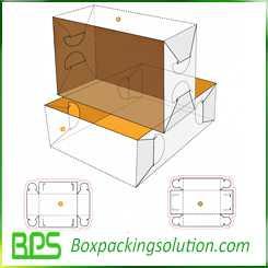 custom fruits packaging box design templates