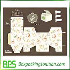 custom gift boxes design template