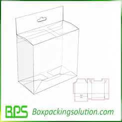 custom packaging box with hang hole retail packaging boxes