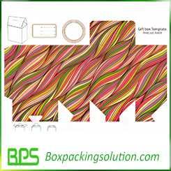 custom snap bottom box design