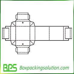customized cardboard tray design templates
