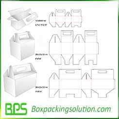 customized carry carton design template