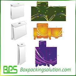 customized carrying carton box design