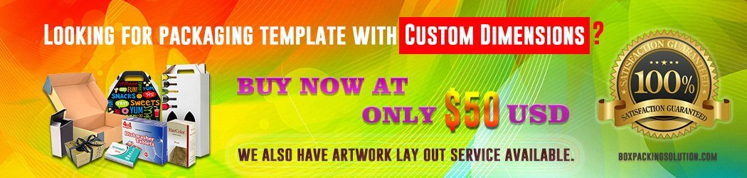 customized die-line template service
