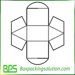 decorative paper box insert