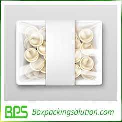 dumplings packaging box design
