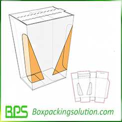 easy opened food container design template