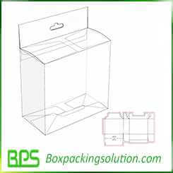 electric device packaging box design template
