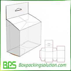 electric packaging box with hook up design template