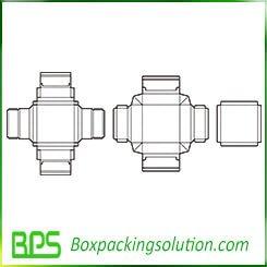 folding box for underwear template