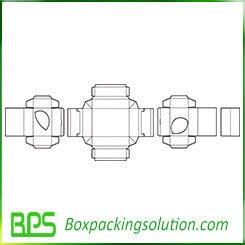 folding box old template