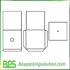 folding liner insert template