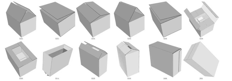free box design template