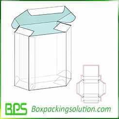 hexagon shaped cardboard box