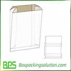 kraft paper sack design template