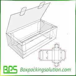 lock top cardboard box design