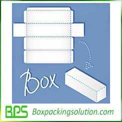 long box design template