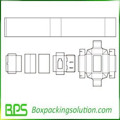 packaging solution for bottle templates