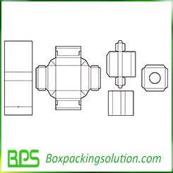 paper box templates design
