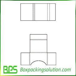 paperboard folder template