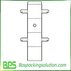 paperboard insert template