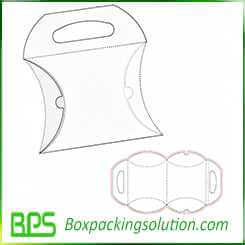pillow box with hook up design template