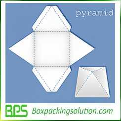 pyramid gift box design