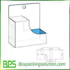 retail packaging box die cut design