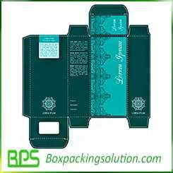 reverse tuck end packaging box design