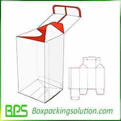 reverse tuck end packing box templates