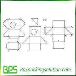 rigid box template design