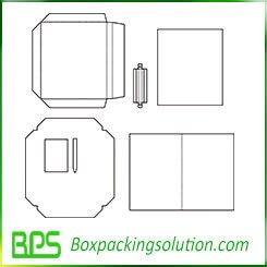 rigid gift box templates