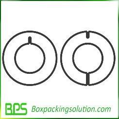 round cardboard piece templates