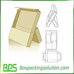 slipcase packaging design template