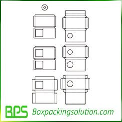 small device packaging box template