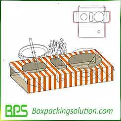 snack food packaging box design