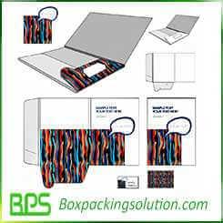 special designed cardboard folder
