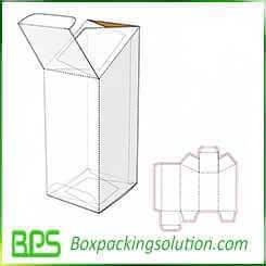 special shap cardboard box design template